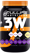 3w pure whey protein 907g fullife nutrition